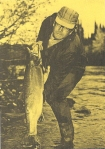 Vintage fly fishing man 5